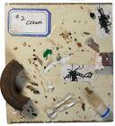 HAZARDING GUESSES Small Mixed Media Collage Scatter Art Steven Tannenbaum TAO-E
