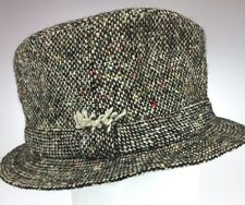 L L Bean Irish Wool Tweed Bucket Hat 7 3/8 Hand Crafted David Hanna Donegal Town