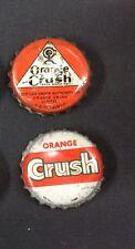 LOT of Orange Crush SODA cork lined crown caps  TORONTO CANADA bottle bottler