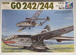 (253) 1980's Italeri 1/72nd Gotha GO242/244