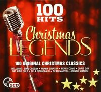 100 HITS - CHRISTMAS LEGENDS (FRANK SINATRA,DEAN MARTIN,PEGGY LEE,...) 5 CD NEU