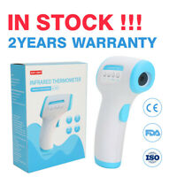 LCD Digital Forehead Thermometer Non-Contact Adult Baby Infrared Temperature Gun
