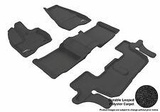 3D Anti-Skid 1 Set Bench Fits Explorer 2011-2014 GTCA28763 Black Carpet Auto Par