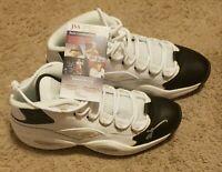 Allen Iverson Signed Philadelphia 76ers Reebok Question Basketball Shoes JSA COA