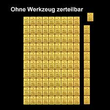 1 Gramm Feingold 999,9 , 1g Feingoldbarren
