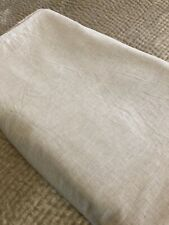 Restoration Hardware Heathered Cotton-Cashmere Duvet, King, Oatmeal