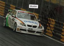 AUTOGRAFO su foto 13x18 cm WTCC 2006 Dirk Müller-BMW 320si (02)