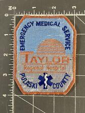 Taylor Regional Hospital Emergency Medical Service Pulaski County GA Patch EMS