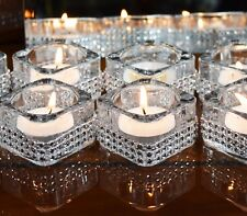 5 Pieces Diamante Tea Light Candle Holder Wedding Christmas Decor