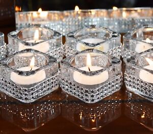 5 Pieces Diamante Tea Light Candle Holder Party Wedding Birthday Christmas Decor