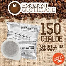 150 cialda 44 ESE Caffè QUOTIDIANE Miscela Espresso per Saeco poemia