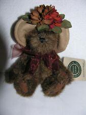 """Boyd'S Bears, Petula P. Fallsbeary, Stuffed 7"""" Bear W/Tags"""
