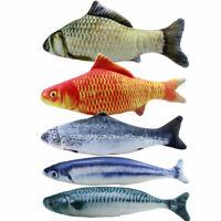 5PZ Giocattoli di Pesce Catnip per Cat 20Cm Giocattoli per Gatti Cat Fish P K6V1