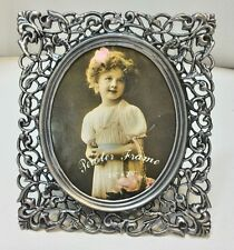 WHOLESALE...Intricate Square Pewter Picture Frame (Lot of 5)