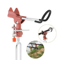 Adjustable Stainless Steel Fishing Rods Pole Ground Holder Stand Support Red