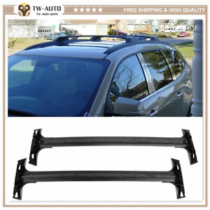 Roof Rail Racks Cross Bars Crossbars Carrier Fits for 2009-2017 Chevy Traverse