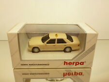 HERPA METALL 70157 MERCEDES BENZ E 320 TAXI - CREAM 1:43 - EXCELLENT IN BOX