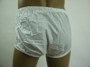 ADULT   PLASTIC PANTS PVC incontinence #P004-1,XL