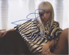 Lady Gaga In Person Signed Photo - Singer/Actress - RARE!! RARE!! - B424