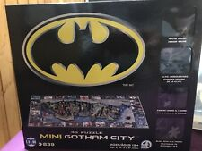 4d Puzzle Mini Gotham City DC 839 Pieces