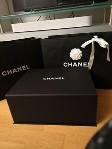Chanel karton/Box mit Tüte, Größe:37.5*28*15.5cm