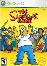 The Simpsons Game (Microsoft Xbox 360, 2007) disc only