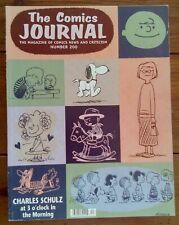 THE COMICS JOURNAL 200, CHARLES SCHULZ, CHRIS WARE, FANTAGRAPHICS, DEC 1997