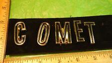 AG06 Mercury Comet Trunk Lid Emblem Vintage 1966 MERCURY COMET CALIENTE CAPRI