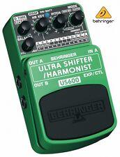 Behringer ultra shifter / harmonist pitch us600 pédale effets guitare musique boîte