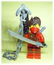 ☆★ LEGO® Ninjago roter Ninja Kai ★ red Ninja + umfangreiche Waffenausrüstung ★☆
