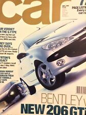 Car Magazine Bentley V 206 GTi & The S-Type May 1999 021018nonrh