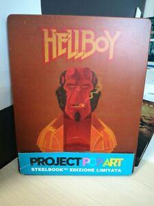 HELLBOY STEELBOOK BLU RAY PROJECT POP ART UNIVERSAL primo prezzo