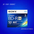 x5 x10 Disc Sony BD-R DL 50GB 6Write Speed Blu-ray disc Dual Layer From Japan