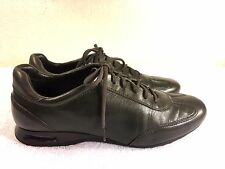 Cole Haan Nike Air dark green leather shoes sneaker size 8.5 B Nice!!!