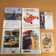 Farm machinery buyers guide LOT mowers swisher