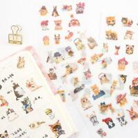 Christmas Snowman Adhesive Paper Sticker Decoration DIY Notes Memo Bookmar Zccj