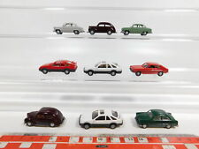 CG326-0,5# 9x Wiking H0/1:87 PKW Ford: Sierra + Capri + Taunus + 12M, NEUW