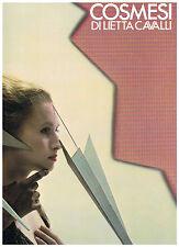 Lietta Cavalli Mode von 1982 Prachtausgabe,Jugendstil,Luxus,Patchwork,Label MALI