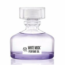 The Body Shop White Musk Perfume Oil - New Packaging NIB 20ml/0.6Oz