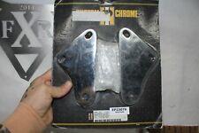 NEW chrome FXR passenger footrest bracket kit Harley FXRT FXRP FXRD NOS EPS23079