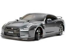 TAMIYA NISSAN GT-R 1/10 RC 187mm Clear Body TT-01 TB-02 TB-03 TA-05 Drift