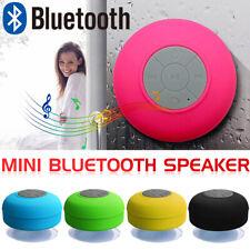 Waterproof Mini Bluetooth Wireless Speaker Handsfree For Car Bathroom Shower