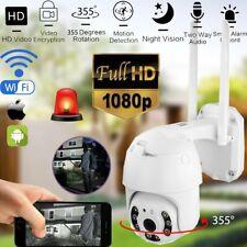WIFI IP CAMERA HD 1080P Outdoor FUNK WLAN NETZWERK AUßEN IR ÜBERWACHUNGSKAMERA