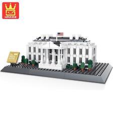 White House Washington D.C. Building Blocks Bricks - Wange