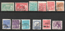 Brazil, selection of 12 stamps, 1928 to 1933 from pre-war collection.