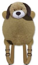 "DOG BACKPACK PET PILLOW ""Plush & Plush"" Brand my animal back pack brown puppy!!!"
