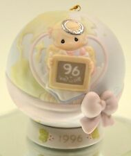 Precious Moments Ball Ornament w/ stand Dated 1996 183350 Bx FreeusaShp