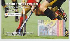 Bund  Markenheftchen für den Sport  Hockey EM 2011    oo