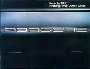 Porsche / Audi 1983 Dealer Brochure