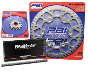 PBI 520 Conv XR 16-44 Chain/Sprocket Kit for Suzuki GSX-R 750 2000-2013